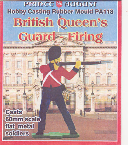 British Queens Guard  Stehend  schiesend 60mm