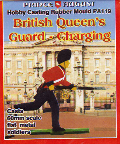 British Queens Guard  Stürmend 60mm