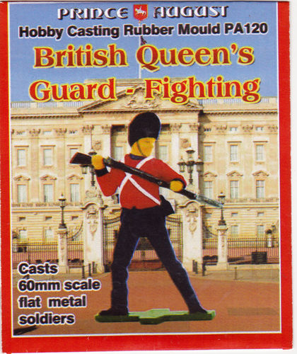 British Queens Guard Kämpfend 60mm