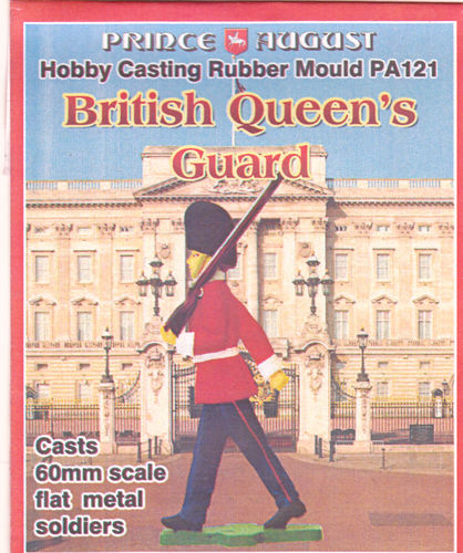 British Queens Guard Marschierend 60mm
